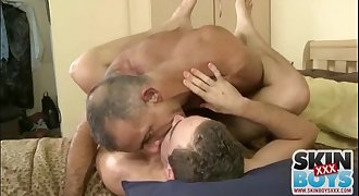 Mature Man Fucks Young Dude in the Ass