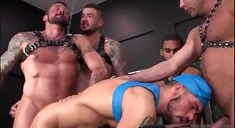 Muscle Daddy GangBang (Raw&Rough)