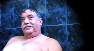 Big testicles Sauna dad