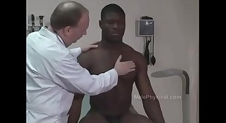 DOCTOR EXAM  Black Football Player