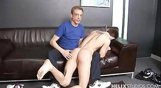 hot twink get spanked