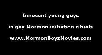 Mormon twinks sucking young cock in underwear