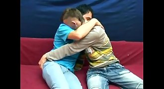 Fresh spunk from luscious ass opening up cute young twinks